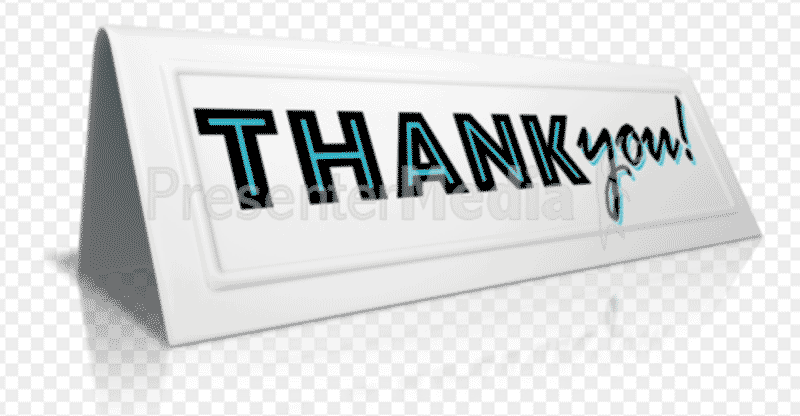 Professional clipart powerpoint PowerPoint animated Thank thank For