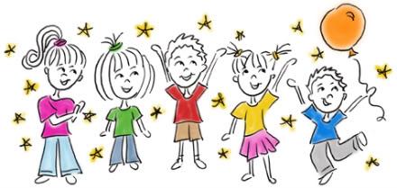 End clipart school year School clipart kids Volunteer happy