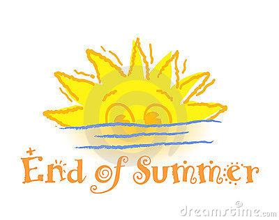 Fun clipart end summer Of summer End  clipart