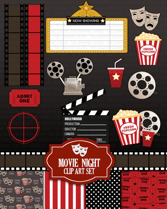 End clipart theater art Party Drawing Cinema Original Ideas