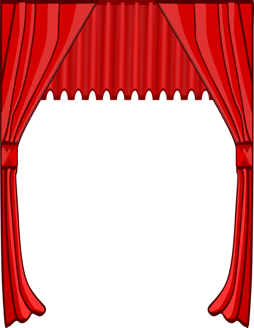 End clipart theater art Free  Download Art Clipart