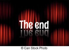 End clipart theater art Projectors background vector Clipart curtains