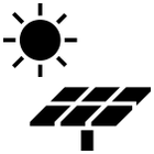 Energy clipart black and white Black and / SOLAR collection