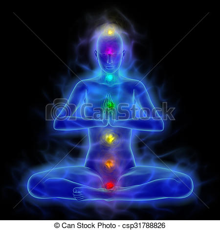 Energy clipart body energy Energy in meditation Art energy