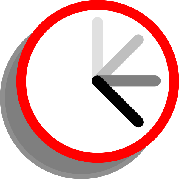 Moving clipart timer – Clipart 101 Clip Clock