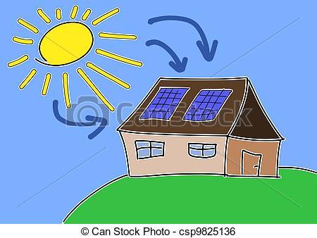 Panels clipart renewable energy  Clip Vector csp9825136 Art