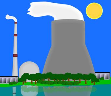 Energy clipart drawing Drawings EduPic Main power atomic