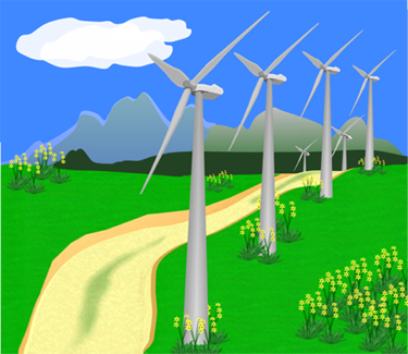 Energy clipart drawing Turbines energy resources renewable Main