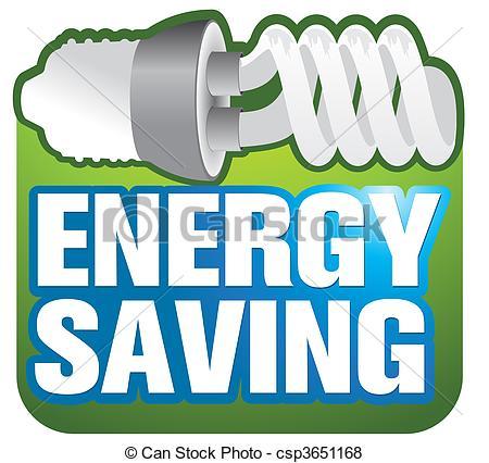 Energy clipart energy saving Vectors Energy saving energy saving