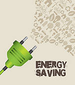 Energy clipart energy saving Saving saving Energy Royalty Free