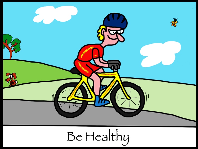 Energy clipart healthy person You not we tend be