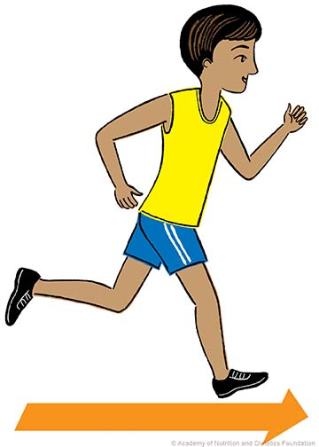 Energy clipart healthy person Child to Basic Nutrition running