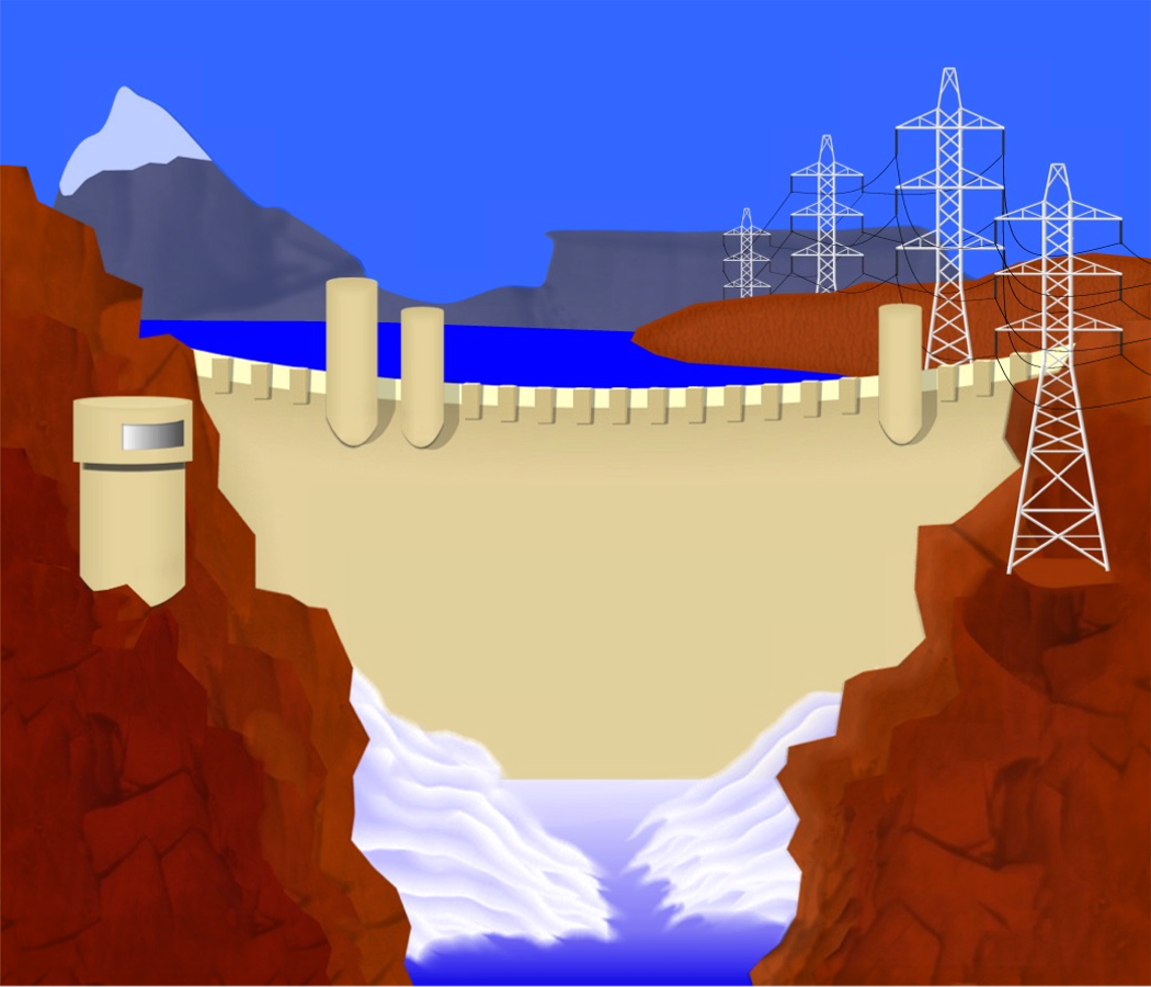 Energy clipart hydro energy Hydroelectric and clipart power energy
