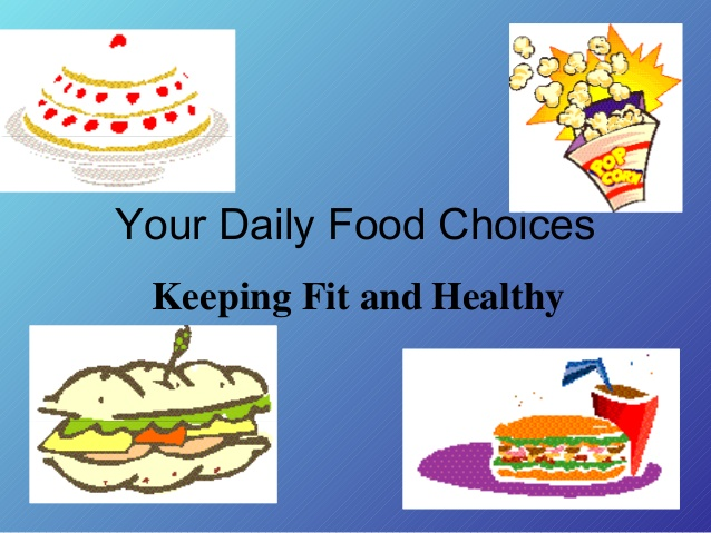 Energy clipart keep fit Food Healthy and Fit Choices