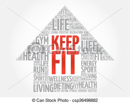 Energy clipart keep fit Arrrow of health arrrow concept