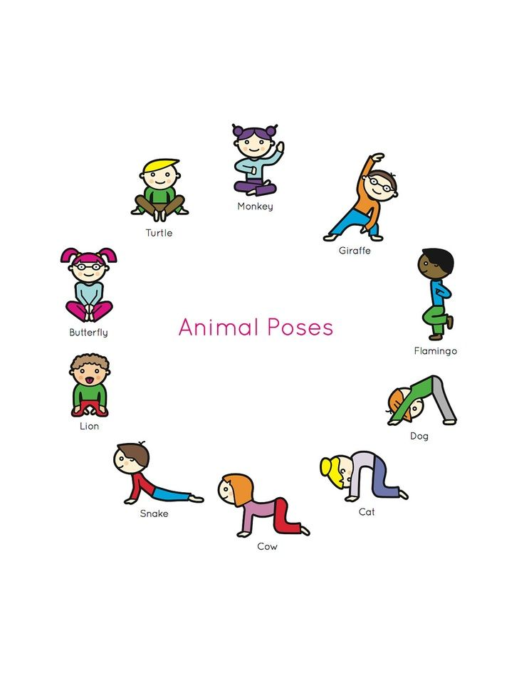 Energy clipart kid fitness : Pinterest Book Poses Yoga