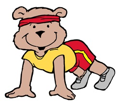 Race clipart kid fitness #15