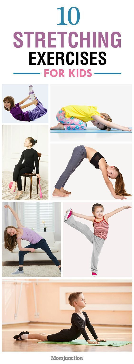Energy clipart kid fitness Simple Pinterest 25+ Stretching Exercise