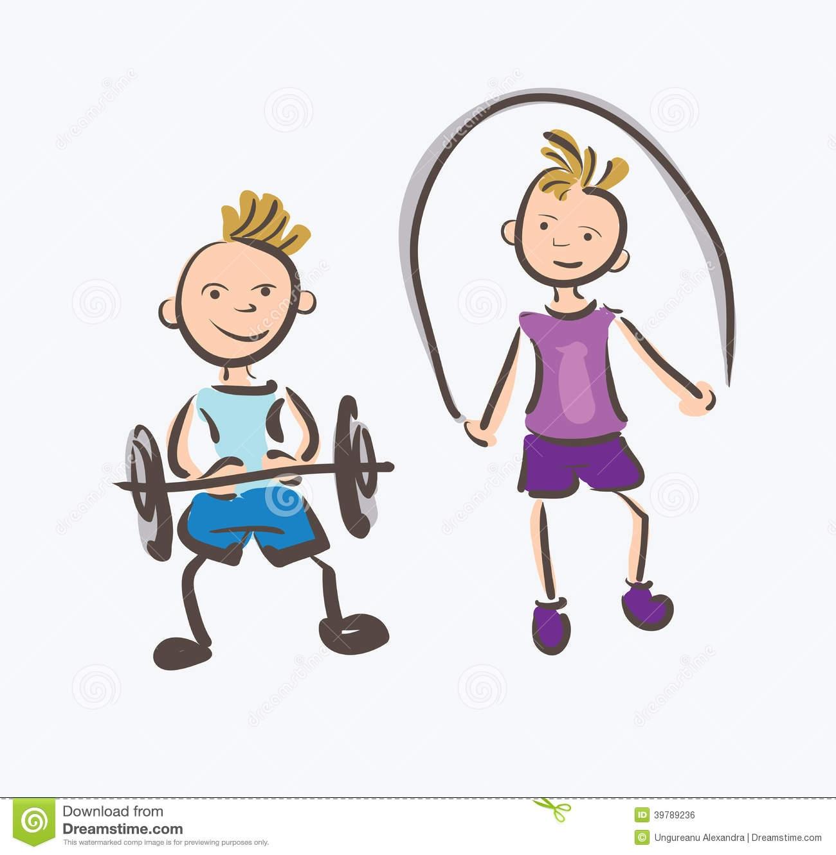 Energy clipart kid fitness Kids com Health clipartsgram Kids