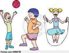 Energy clipart kid fitness Clip art at kids play