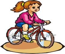Mechanical clipart mechanical energy Jpg 0226_Young_Girl_Riding_a_Bicycle_clipart_image 0060 Energy 2203