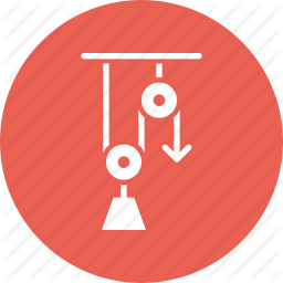Energy clipart physics lab Lab pulley lever Energy Icon