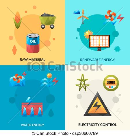 Energy clipart renewable resource Resources Resources Raw of Icons