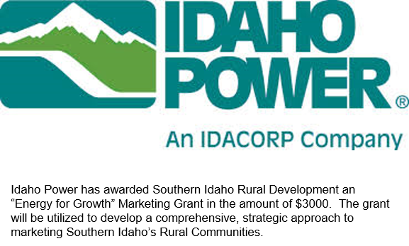 "Energy clipart rural development Idaho ""Energy for Grant"