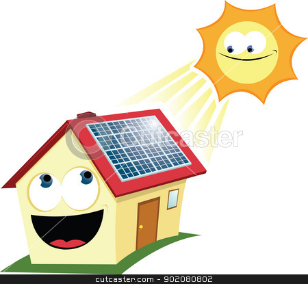 Panels clipart sun energy Funny vector images: Solar Panel