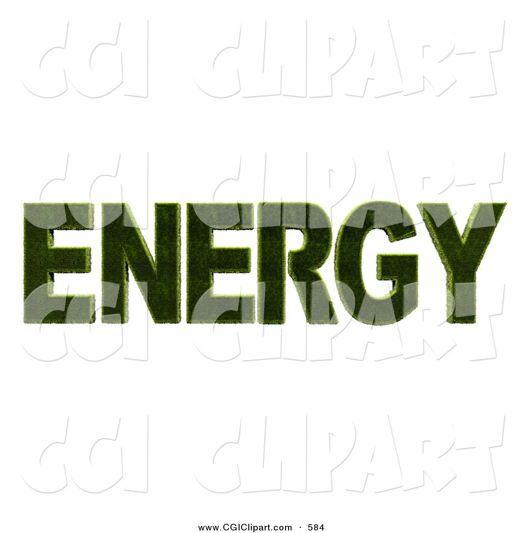 Energy clipart the word Art Word Clip for Energy