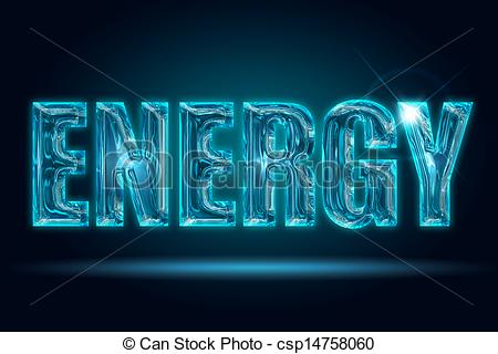 Energy clipart the word Transparent Stock  Stock of