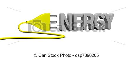 Energy clipart the word Energy Stock with an Stock