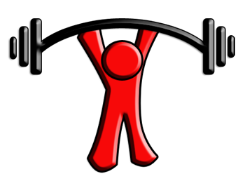Energy clipart weight training  Strength and and lifting