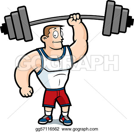 Energy clipart weight training Weights Lifting Royalty Clipart Weights