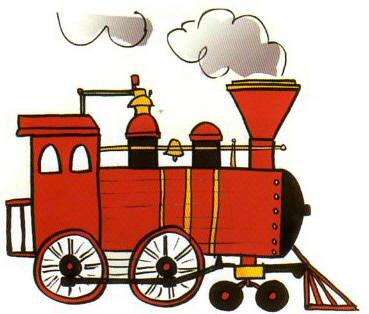 Railways clipart steam engine #10