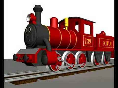 3D clipart train Animated Train 3D YouTube test