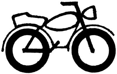 Bike clipart honda motorcycle Motor Clip Free Clip Bike