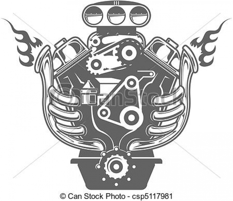 Engine clipart car engine Of car of engine Clipart