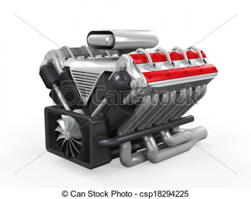 Engine clipart car engine Images car collection stock illustration