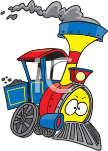Smoking clipart train smoke Image: Clipart Royalty A Image: