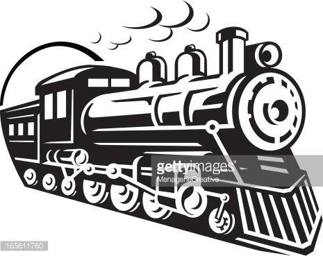 Railways clipart steam engine #2