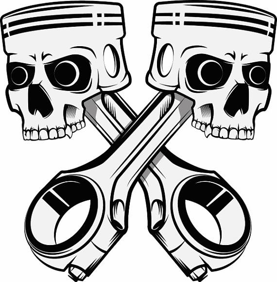 Ssckull clipart mechanic Car Part Crossed Auto PNG