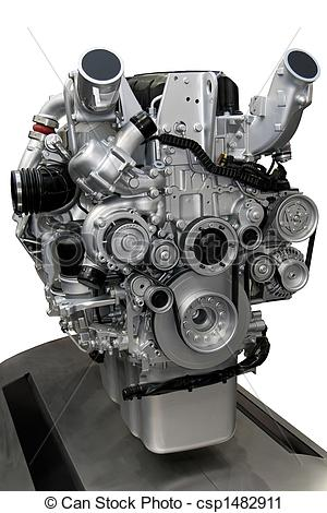 Engine clipart diesel engine Of Turbo of Turbo Stock