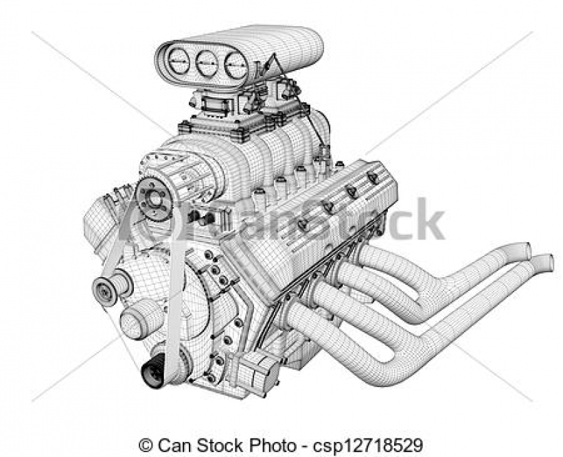 Engine clipart diesel engine Engine illustrations animated Best Free