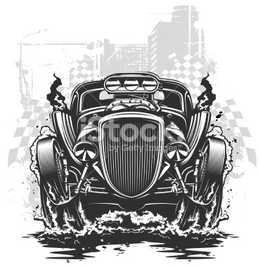Engine clipart drag race Royalty Illustration drag Stock racing