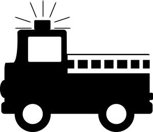 Engine clipart drawing Or lights Engine truck drawing