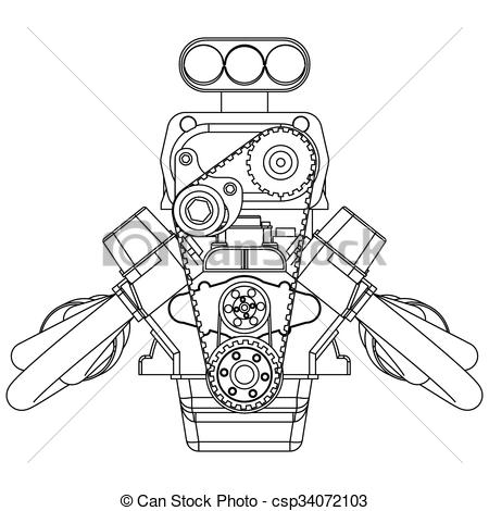 Engine clipart drawing Rod of Clipart Rod Hot