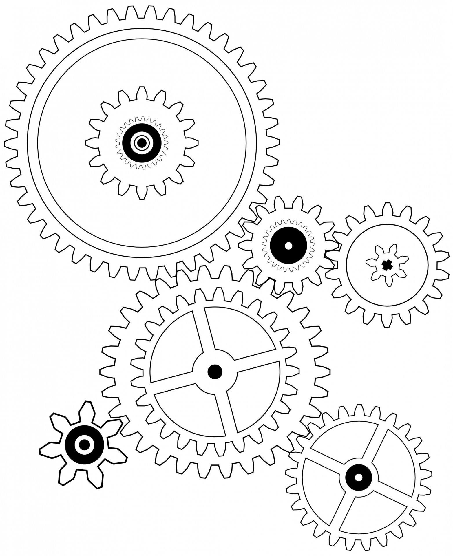 Engine clipart engineering gear  Find Files more Decals