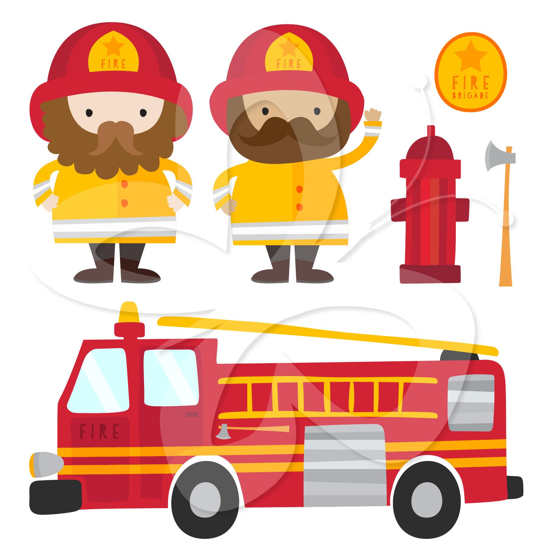 Engine clipart fireman Fireman Engine Fire fire fireman