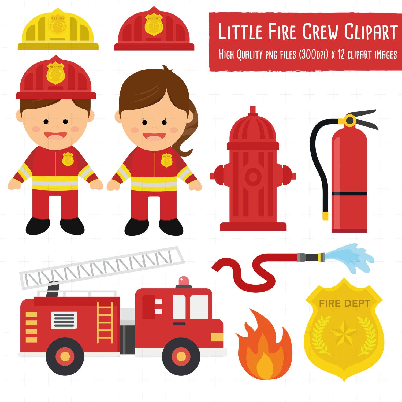 Engine clipart fireman Clipart fire little This a